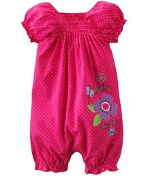 Polka Dot Jumping Beans Baby girls Romper Newborn Shortalls Baby One pieces Clothes Toddler Overalls Babywear W188-in Girls from Apparel & A...