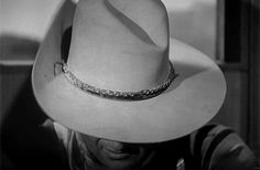 This hat as seen in 1959 was the same hat that John Wayne wore in all of his westerns' for almost 20 years.  When it began to fall apart, he simply put it under glass in his home and kept it.