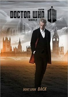 ''Don't Look Back'' - Doctor Who Series 9  - poster (Doctor Who - BBC Series)