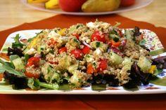 The Simple Skillet | Greek Cucumber Quinoa Salad