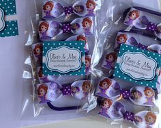 sofia the first party favor ideas - Google Search