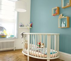 GoodHome walls and ceilings paint is ideal for your interior spaces. It gives a smooth and wipeable finish, so your newly painted look will last for longer Small Space Interior Design, Interior Design Living Room, Baby Bedroom, Girls Bedroom, Scandinavian Kids Rooms, Topas, Home Staging, Kids House, Boy Room