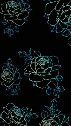Amoled Flowers IPhone Wallpaper - IPhone Wallpapers