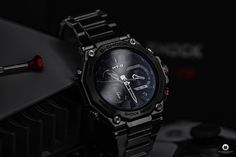 Casio released the latest generation of its G-SHOCK MTG-B2000D-1AER series, which I was now allowed to test as MTG-B2000D 1AER. Casio G-shock, Casio Watch, Mtg, Luxury Watches, Fire Department, Watch, Photo Illustration