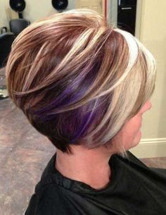 I want to do this except the purple would be a little lighter