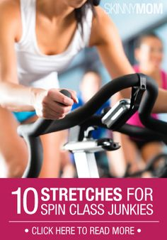 Do you love spinning class? Get these 10 stretches you should do for every class!