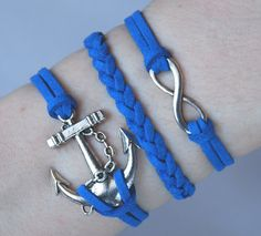 Antique Silver Bracelet Anchor Jewelry Silver by JewelryonlyforYou, $6.99