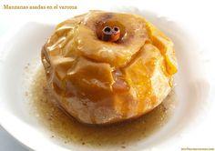 Manzanas asadas en el varoma - MisThermorecetas.com