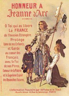 Notre sainte sœur Jeanne d'Arc!