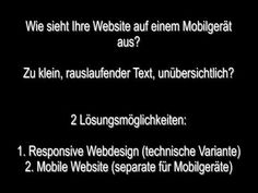 Video Werbung und mobile Websites