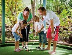 Mini Golf on #HamiltonIsland