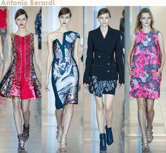London Fashion Week Fall 2015 #lfw Antonio Berardi, Christopher Kane, Ashley Williams, Emilio de la Morena & Burberry Prorsum.