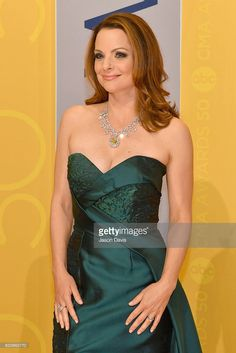 Kimberly Williams-Paisley attends the annual CMA Awards at the Bridgestone Arena on November 2016 in Nashville, Tennessee. (Photo by Jason Davis/FilmMagic) Kimberly Williams, Popular Articles, Cma Awards, Strapless Dress Formal, Formal Dresses, 50th, Paisley, November 2, Nashville Tennessee