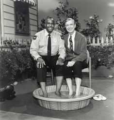Just when you think you've heard all the stories about Mr Rogers that make you mist up and realize just how good of a person he was another one pops up.   When Mr Roger's Neighborhood started in 1968 the country was just 4 months removed from the assassination of Dr King, and Fred Rogers introduced his neighborhood to Officer Clemmons, a black police officer who was a kindly, responsible authority figure and was Mr. Roger's equal, colleague and neighbor.  Around the 1 year ann...