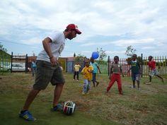 Fussball KITA Nkululeko Südafrika Orange Farm