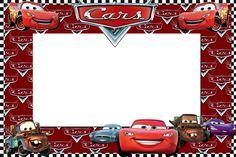 Invitaciones para imprimir gratis de Cars.   Ideas y material gratis para fiestas y celebraciones Oh My Fiesta!