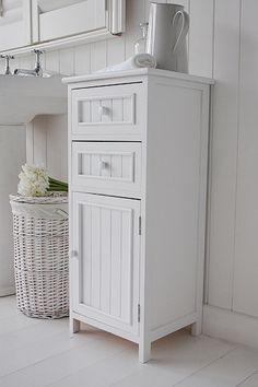 Argos Living Tongue And Groove Bathroom Storage Unit White 832 9415 24 99 Wedding List Pinterest Units