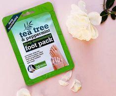 Xpel Hydratačné ponožky s Tea Tree, mätou a bambuckým maslom - BeautyForYou. Tea Tree, Peppermint, Mint