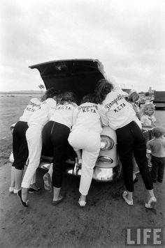 1950s All Girl Hot Rod Club