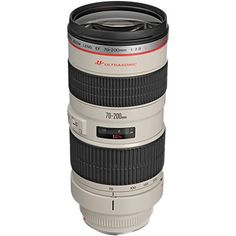 Canon EF 70-200mm f/28L USM Zoom Lens with 3 UV/FLD/CPL Filters + Backpack + Cleaning Kit for Digital SLR Cameras