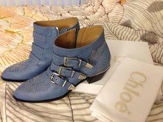 New addition to my F/W 13/14 closet - Chloe Suzanna Boots