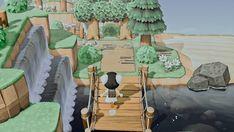 Animal Crossing 3ds, Nintendo Switch Animal Crossing, Animal Crossing Villagers, Japanese Animals, Ac New Leaf, Garden Animals, Animal Games, Island Design, Like Animals