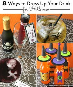 8 Ways To Dress Up Your Drink For Halloween — Celebrations at Home