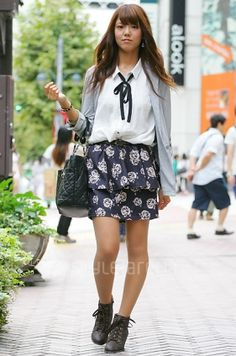 Eriko's STYLE -TOKYO STREET STYLE | スタイルアリーナ style-arena.jp