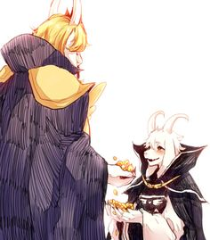 Asgore and Asriel