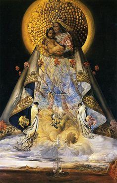 Dali, Salvador (1904-1989) - 1959 The Virgin of Guadalupe