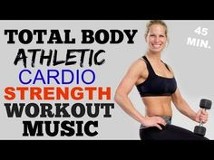 Total Body HIIT Cardio + Weights Workout, Brutal HIIT Workout - YouTube