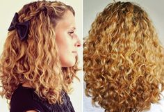 Curly Hair Routine for Gorgeous Type 3a Curls