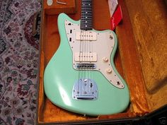 Surf Green Jazzmaster. The guitar I would love the most.