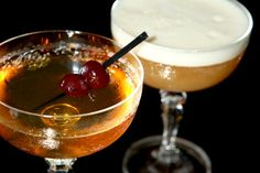 Aged Vermouth Will Up Your Manhattan Game – Food Republic Drinks Alcohol Recipes, Drink Recipes, Dinner For 2, The Chew, Manhattan, Cocktails, Game, Ethnic Recipes, Desserts