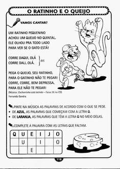 Educação Infantil Atividade-113 Zen, Homeschool, Education, Comics, Hinata, Letter J Activities, Abc Centers, Language Activities, Literacy Activities