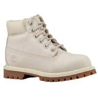 "Timberland 6"" Premium Waterproof Boots - Boys' Toddler - Grey / Brown"