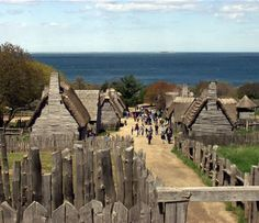 Living history museum of the 17th-century Plymouth Colony