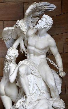 Prometeo, una maravilla de escultura romana
