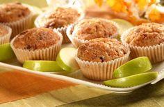 Mmmmmm. Tasty and healthy Apple-Cranberry Wheat Muffins