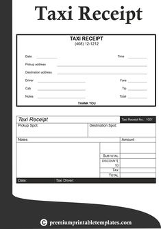 Taxi Receipt Templates – Taxi receipts are offered to passengers by the driver as the former alight from the vehicle after paying the fare. Taxi Receipt Templates,Taxi Receipt Templates buy,Taxi Receipt Templates purchase