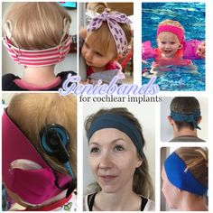 Custom made cochlear implant headbands www.facebook.com/Geniebands