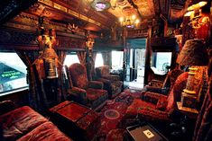 The rear parlor of the Patron Tequila Express was the original inspiration for the House of Blues Foundation Rooms.