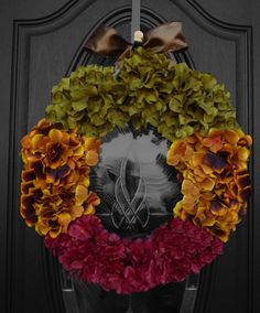 Fall and Thanksgiving Holiday Wreath - my newest original design and creation!  Available in several sizes.