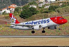 HB-IJU Edelweiss Air Airbus photographed at Funchal / Madeira (Santa Cruz) - Cristiano Ronaldo International (FNC / LPMA) by Nelson Sousa Funchal, International Airport, Cristiano Ronaldo, Air Force, Aircraft, Commercial, Airplane, Santa Cruz, Wood