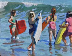 Carol Marine's Painting a Day Interview podcast with Peggi Kroll Roberts