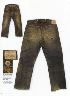 Levi Strauss Lot 201, Early 1900's