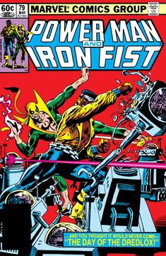 Chris Sims reads the 1982 issue of Power Man & Iron Fist by Mary Jo Duffy and Kerry Gammil from Marvel Comics. Iron Fist Comic, Iron Fist Marvel, Marvel Comic Books, Marvel Characters, Star Comics, Marvel Comics, Marvel Dc, Luke Cage Iron Fist, Defenders Comics