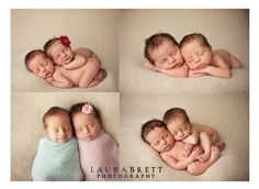 Art Twin newborn  photography
