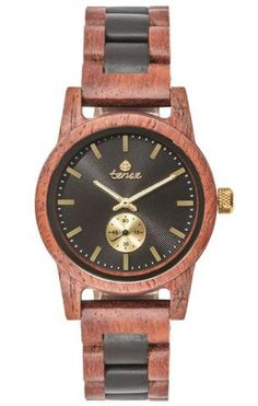 Tense Hampton Wooden Watch B4700RD-BG