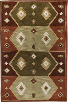 If you're a little bit Country and a little bit Funky, then these Southwest Area Rugs may work perfectly for your braver, warmer, creative, design side!